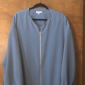 Halston zip up jacket NWOT